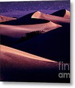 Sand Dunes At Sunrise Metal Print