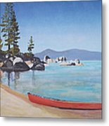 Sand Harbor - Lake Tahoe Metal Print