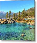 Sand Harbor State Park, Lake Tahoe Metal Print