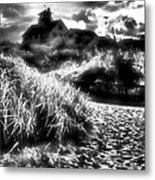 Sand In Ma Shoes Metal Print