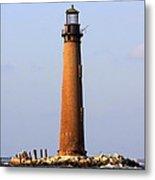 Sand Island Lighthouse - Alabama Metal Print
