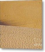 Sand Layers Metal Print