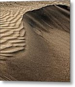 Sand Pattern Abstract - 2 Metal Print