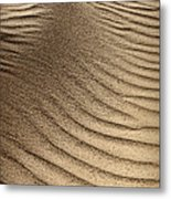 Sand Pattern Abstract - 3 Metal Print
