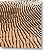 Sand Ripples Metal Print