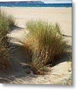 Sand Sea Mountains - Crete Metal Print