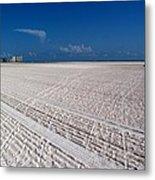 Sand Trails Metal Print