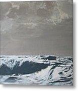 Sandbank Vi Braun Metal Print
