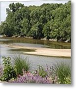 Sandbanks In The River Metal Print