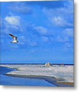 Sandbar Bliss Metal Print