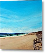 Sandbridge Virginia Beach Metal Print