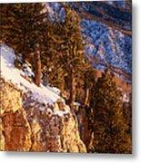 Sandia Peak Summit Albuquerque New Mexico Metal Print