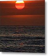 Sandi's Sunset By Diana Sainz Metal Print