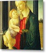 Sandro Botticelli, Madonna And Child, Italian Metal Print