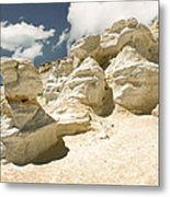 Sandstone And Sky Metal Print
