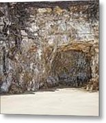Sandstone Cave Metal Print