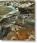 Sandstone Falls Metal Print
