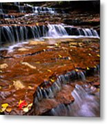 Sandstone Ledge Metal Print