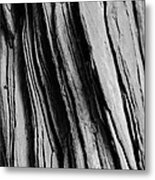 Sandstone Mono Metal Print
