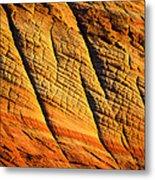 Sandstone Of Time Metal Print
