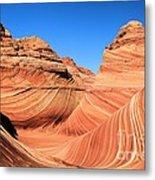 Sandstone Rainbow Metal Print