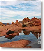Sandstone Reflections 2 Metal Print