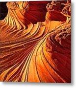 Sandstone Silhouette Metal Print