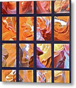 Sandstone Sunsongs Golden Oldies Photo Assemblage Metal Print