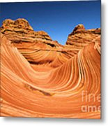 Sandstone Surf Metal Print by Adam Jewell