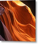 Sandstone Walls Antelope Canyon Arizona Metal Print