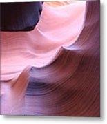Antelope Canyon Sandstone Waves Metal Print