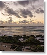 Sandy Beach Sunrise 10 - Oahu Hawaii Metal Print