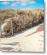 Sandy Dunes In Holland Metal Print