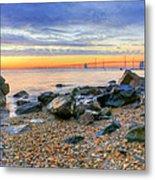 Sandy Metal Print by JC Findley