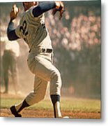 Sandy Koufax  Metal Print by Retro Images Archive