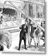 Sanger's Circus, 1884 Metal Print