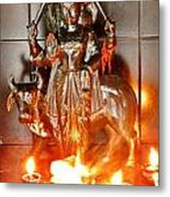 Sani Murti - Temple To Saturn - India Metal Print