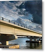 Sanibel Causeway I Metal Print by Steven Ainsworth