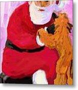 Santa Baby Metal Print