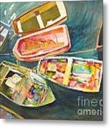 Santa Barbara Boats Metal Print