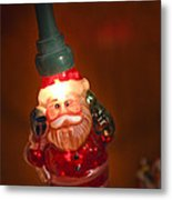 Santa Claus - Antique Ornament - 06 Metal Print