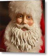 Santa Claus - Antique Ornament - 07 Metal Print