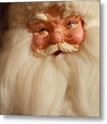 Santa Claus - Antique Ornament - 14 Metal Print