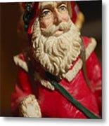 Santa Claus - Antique Ornament - 21 Metal Print
