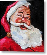 Santa Claus Metal Print by Carole Foret
