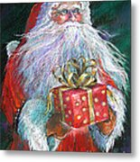 Santa Claus - The Perfect Gift Metal Print