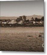 Santa Cruz Boardwalk Sepia 2 Metal Print