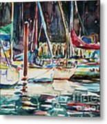 Santa Cruz Dock Metal Print