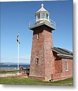 Santa Cruz Lighthouse Surfing Museum California 5d23936 Metal Print