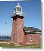 Santa Cruz Lighthouse Surfing Museum California 5d23940 Metal Print